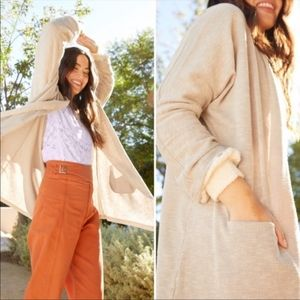 Donni Ribbed Cardigan Sweater OS